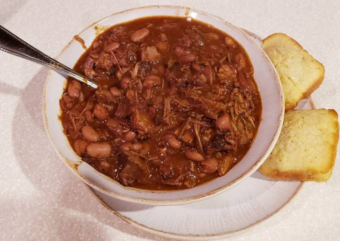 """""""After the Final Plate"""" Smoked Brisket Chili"""