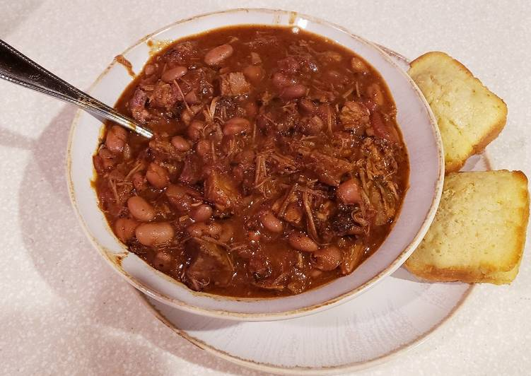 After The Final Plate Smoked Brisket Chili Recipe By Troy Dye Cookpad