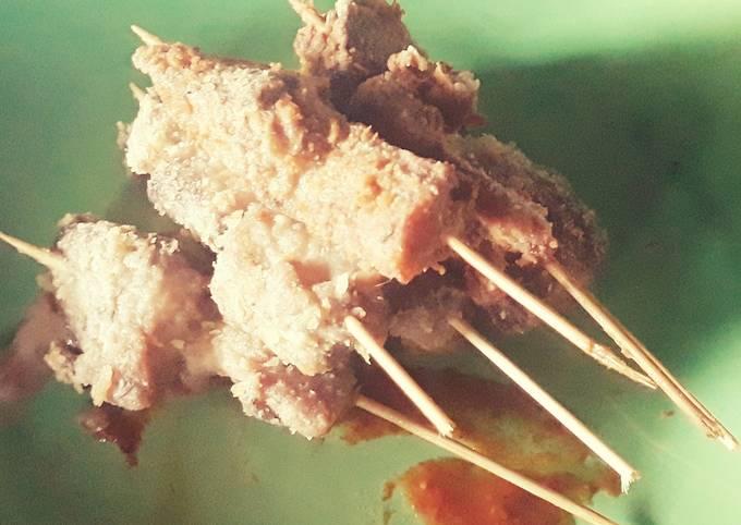 Resep Sate Tuna(tongkol) Krispi Anti Gagal