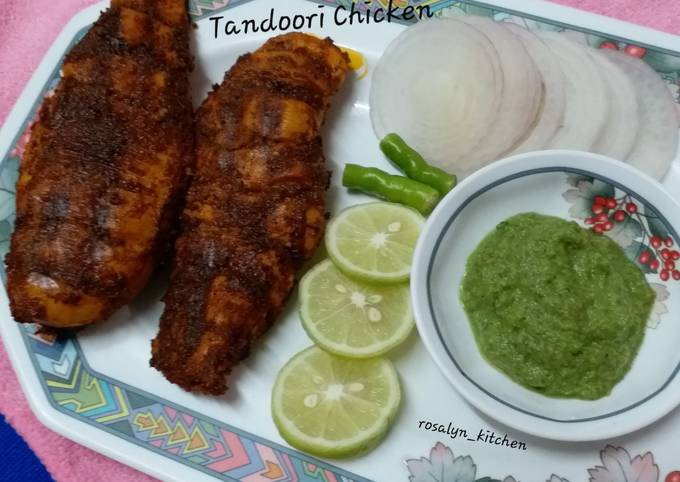 Step-by-Step Guide to Make Favorite Tandoori Chicken indian Grilled Chicken Restaurant Style