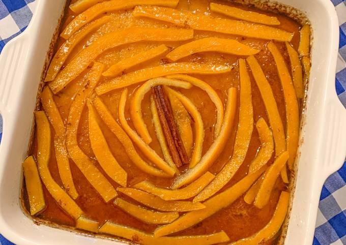 Portokalopita 🇬🇷 - gâteau Grec à l'orange (à base de semoule)