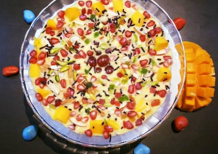 Simple Way to Prepare Favorite Mango Rice Pudding