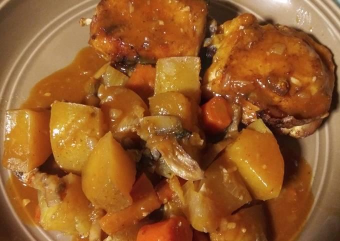 How To Cook Crock pot Chicken and Veggies Tasty
