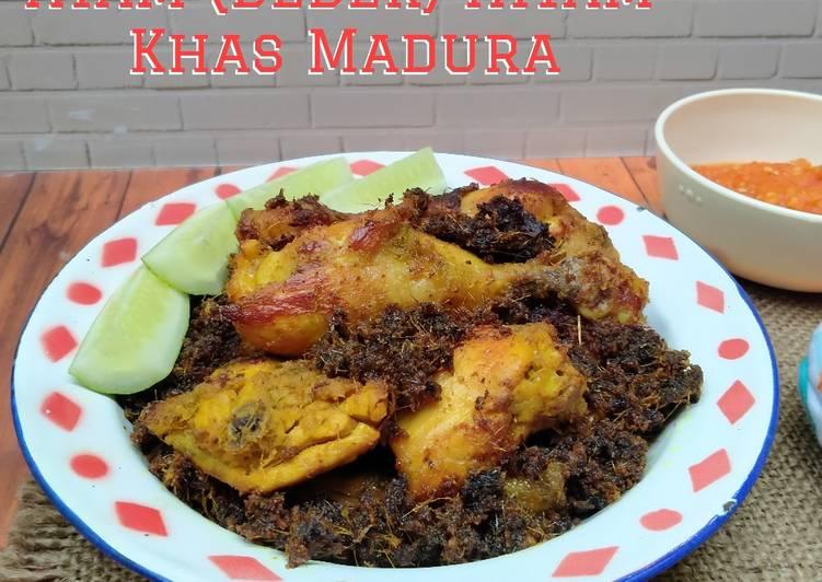 Ayam (bebek) hitam khas madura
