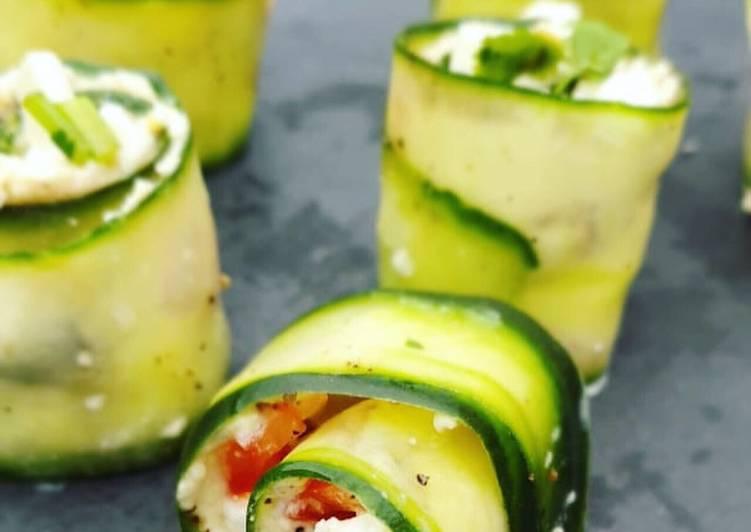 Greek Salad Rolls ?
