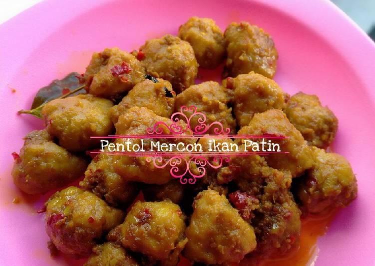 Pentol / bakso Mercon Ikan Patin