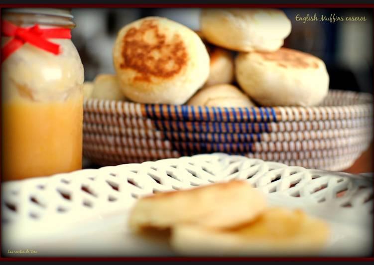 Deliciosos English muffins caseros