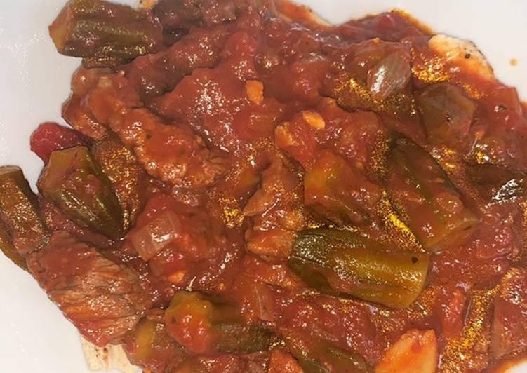 'Bamia' Lamb Okra Stew