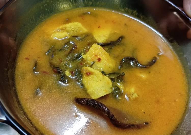 Ayam masak asam pedas kuning simple #KCHUP - velavinkabakery.com