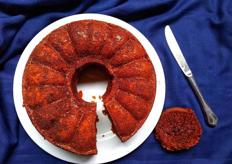 cara membuat Kue Sarang Semut (Bolu Karamel) takaran gelas #selasabisa - Sajian Dapur Bunda