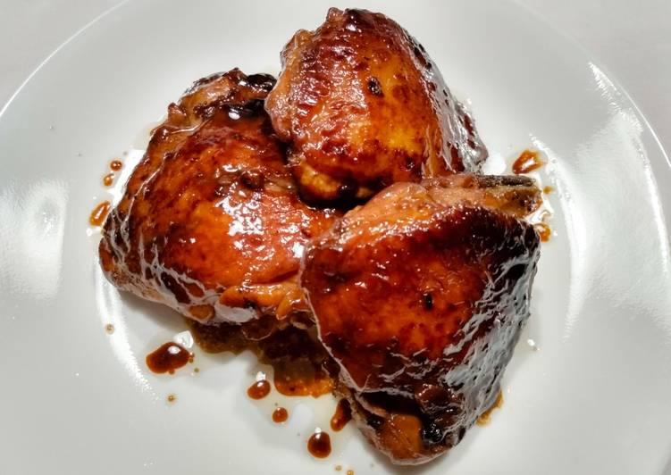 Lime Chicken Adobo