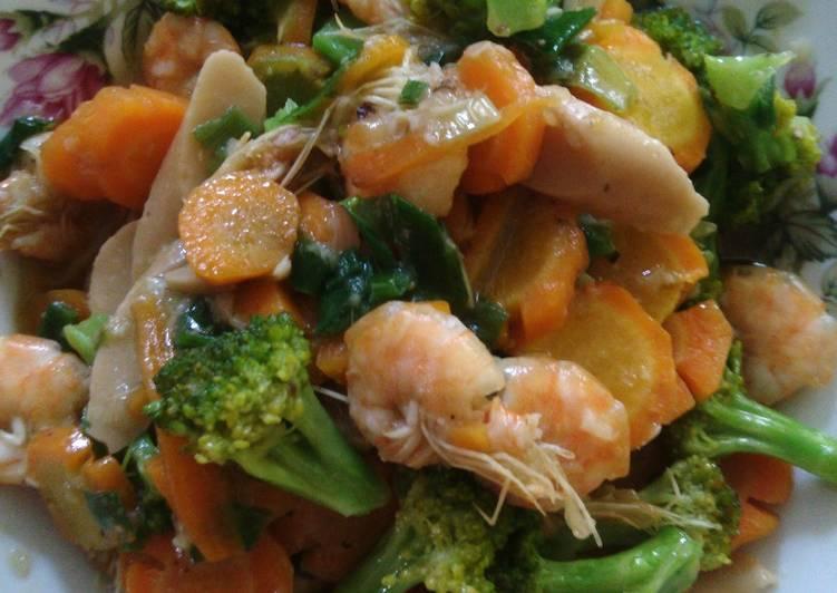 Capcay sayuran simple