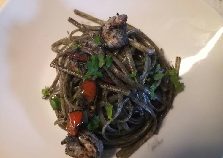 How to Prepare Any-night-of-the-week Linguine al nero di seppia