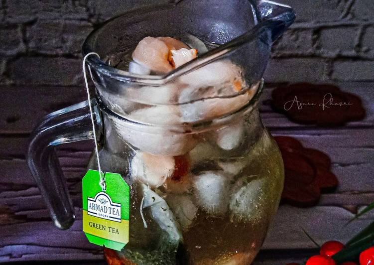 Green Tea Ice Lychee - resepipouler.com