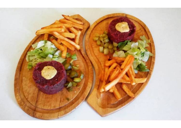 🌱 Tartare vegan d'haricots rouges 🌱