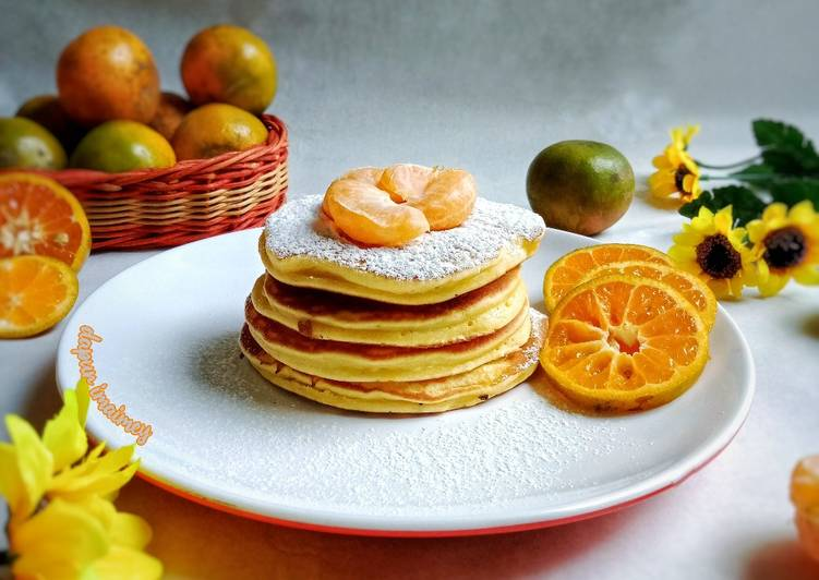 Pancake Fluppy Jeruk