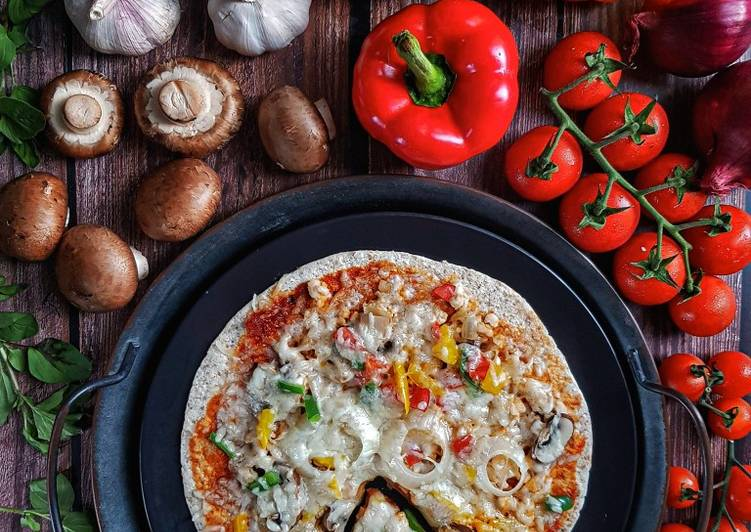Resepi:  Pizza Ayam yang mudah #phopbylinimohd #batch21  Dirumah