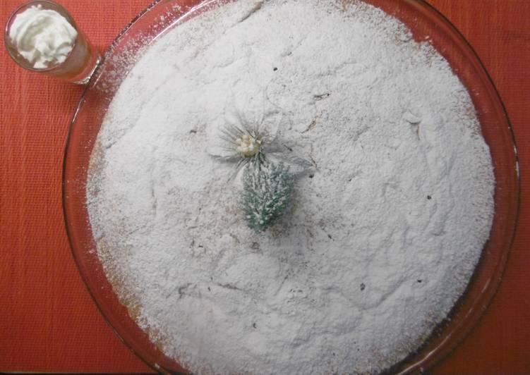Vasilopita the traditional New Year's Eve Greek Cake
