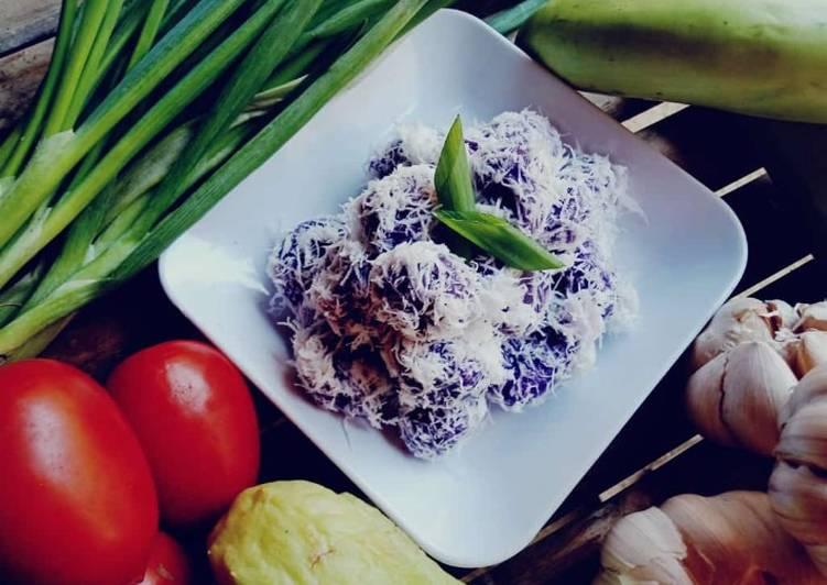 Resep Kelepon ubi gula nangka