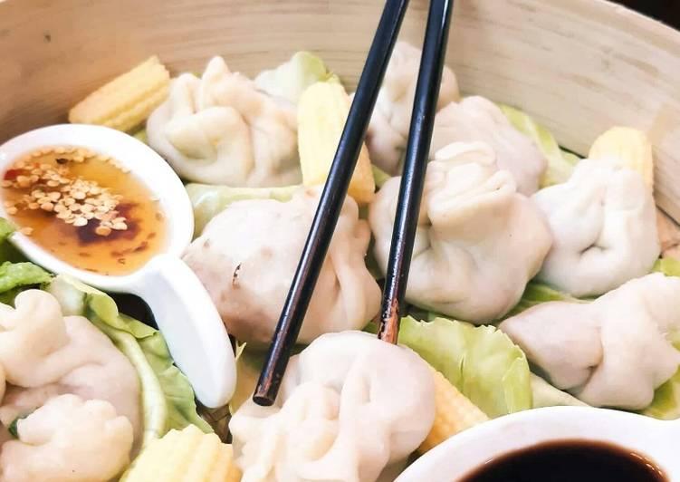 How to Prepare Homemade Shrimps Dumplings