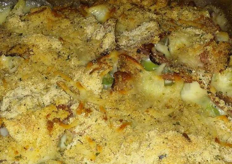 Recipe of Perfect Ham & Cheese Casserole