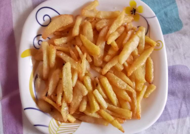 Steps to Prepare Favorite French fries