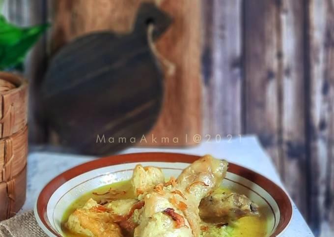 Opor Ayam Tahu