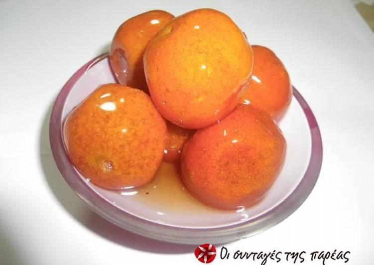 How to Prepare Award-winning Tangerine spoon sweet