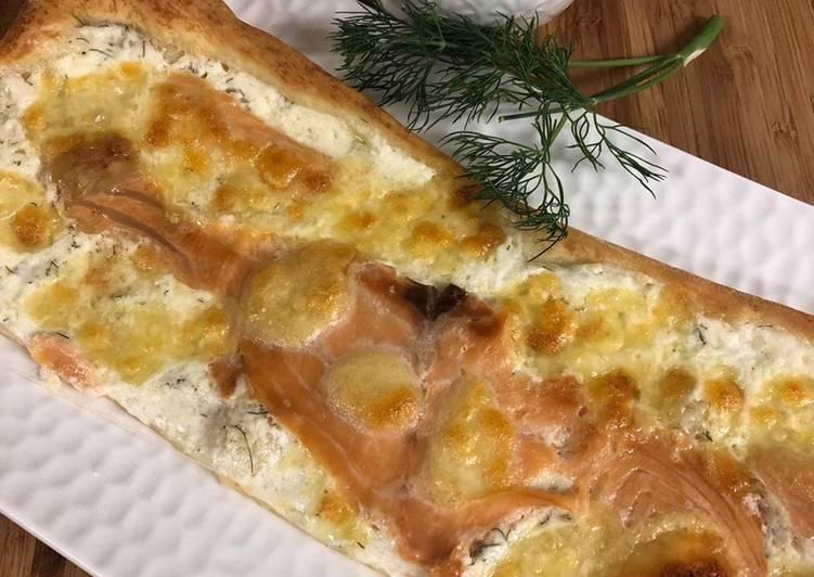 Pizza saumon / pacifique