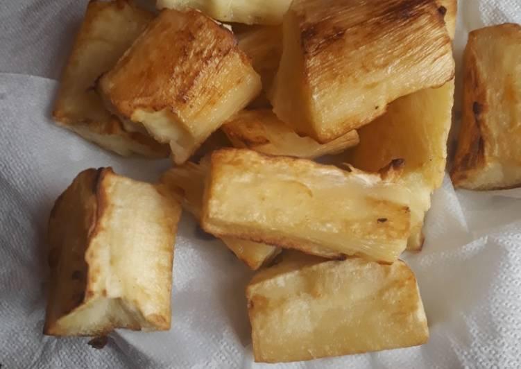 Simple Way to Prepare Favorite Cassava#4weeks challenge
