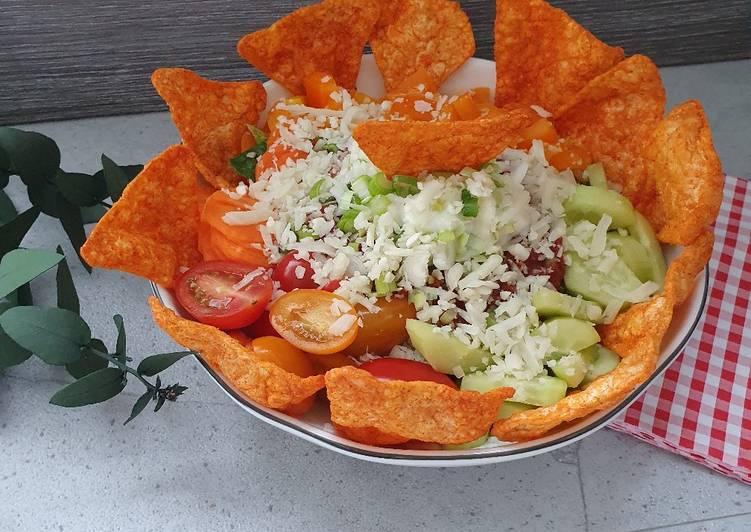 Taco / Nacho Bowl Vegetarische Variante