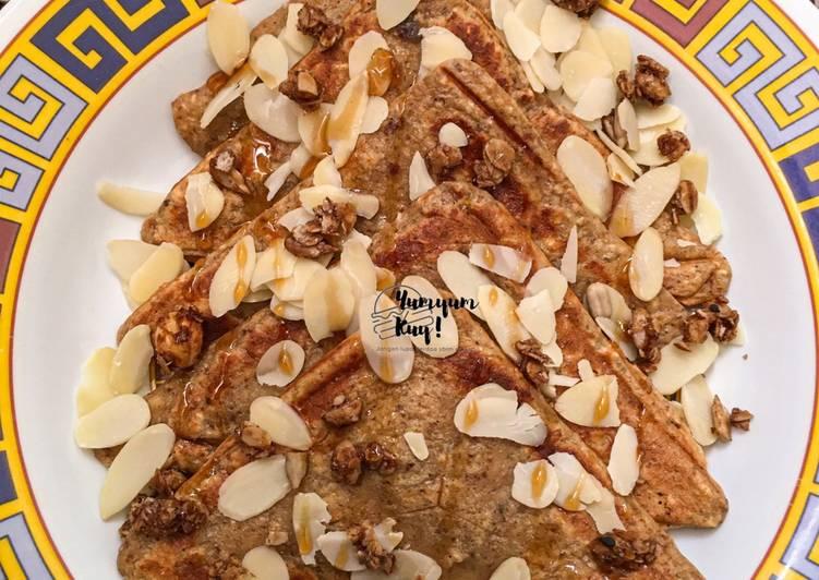 Resep Pancake Oat for Healthy Breakfast 💕 Paling Mudah
