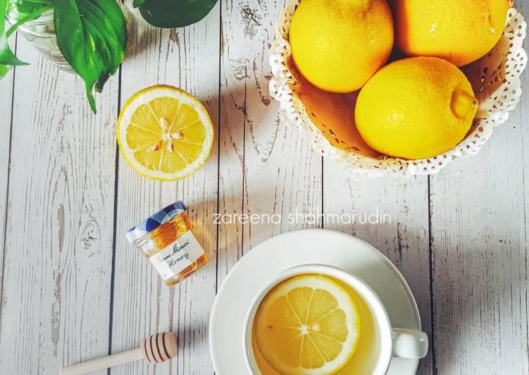 Air Lemon & Madu - resepipouler.com