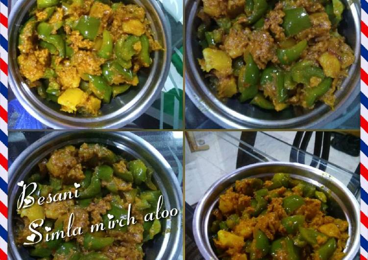25 Minute Step-by-Step Guide to Make Diet Perfect Besani Shimla Mirch Alu