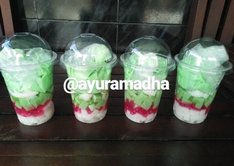 Resep Buko Pandan milk ala-ala bahan sederhana