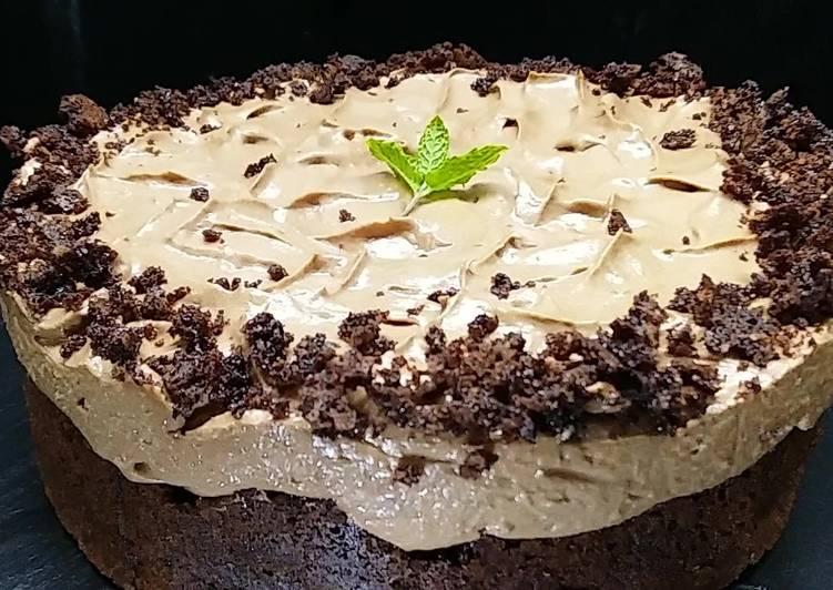 Brownie Schokoladecheesecake