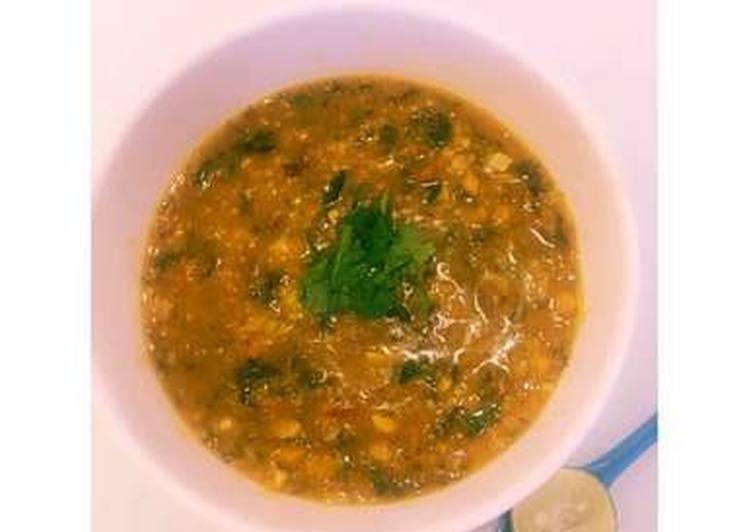 Easiest Way to Make Delicious Vegetarian Dhanshak