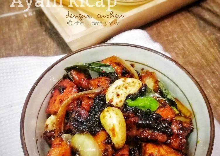 Ayam Kicap dengan Cashew ❤️ - velavinkabakery.com