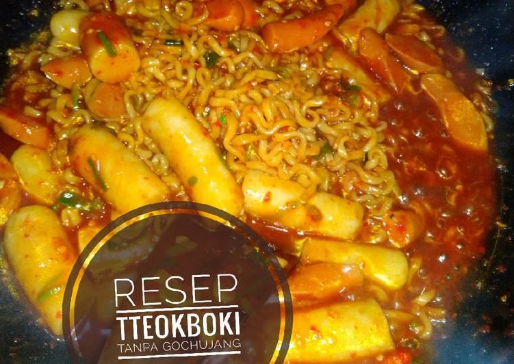 Resep Tteokboki Tanpa Gochujang