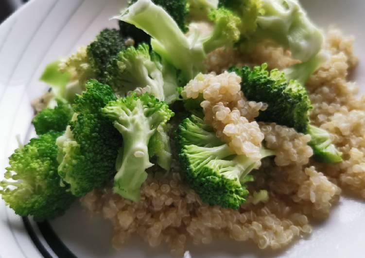 Ensalada de quinoa y brócoli