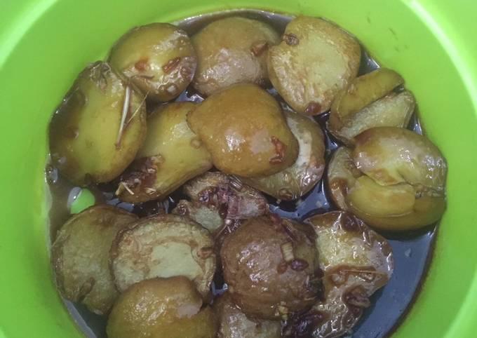 Masakan ala Rumahan Jengkol Karamel
