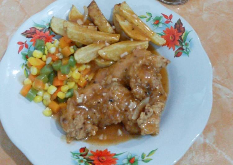 Bagaimana Menyiapkan  Sedap  Steak Ayam Crispy Untuk Pemula