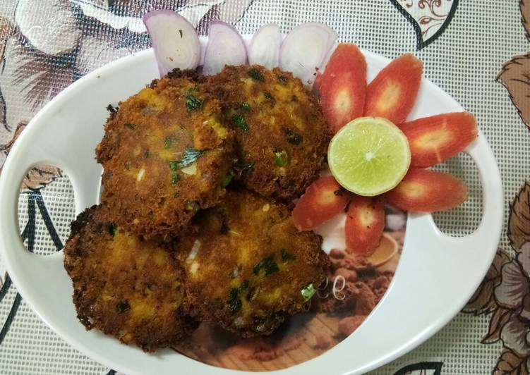 30 Minute Recipe of Super Quick Homemade Chicken Shami kabab