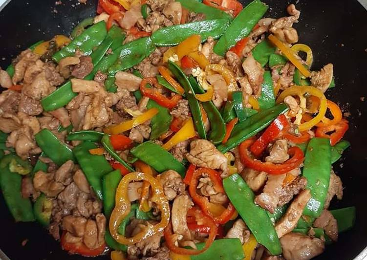 Stirfry chicken