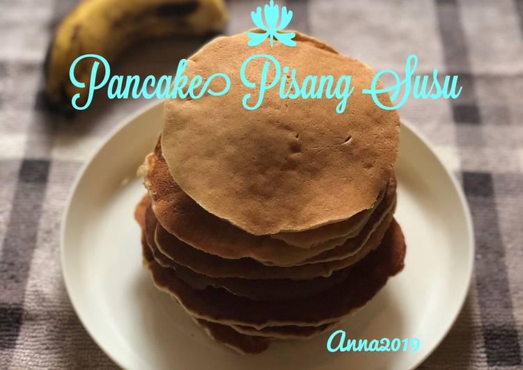 Pancake Pisang Susu