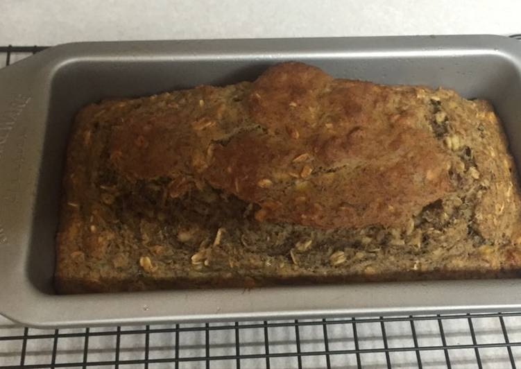 Healthy Banana Bread Recipe By Alex Lewis Cookpad