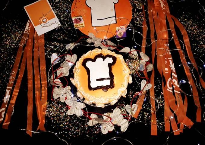 Cookpad logo cake