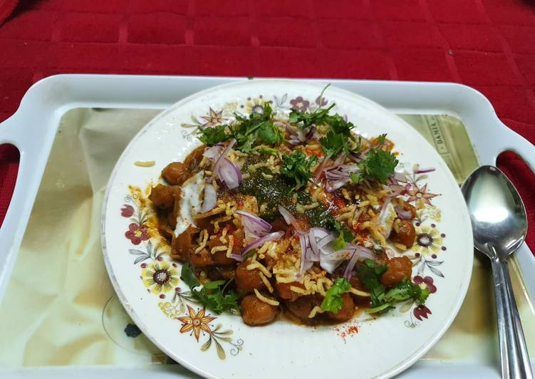 Top 100 Dinner Easy Spring Aloo Tikki Chole Chaat