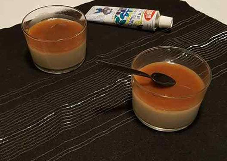 Comment Cuisiner Verrine : panacotta vanille et sa creme de marron