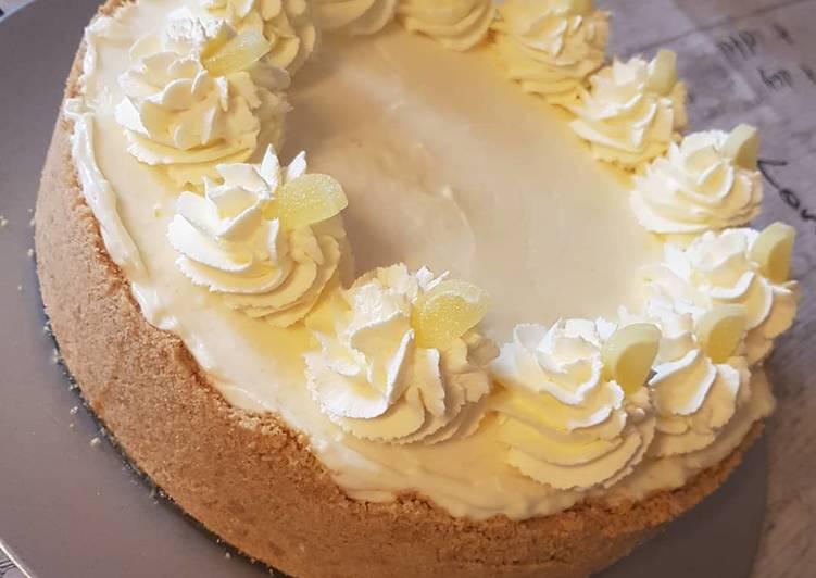 How to Prepare Speedy Lemon Cheesecake